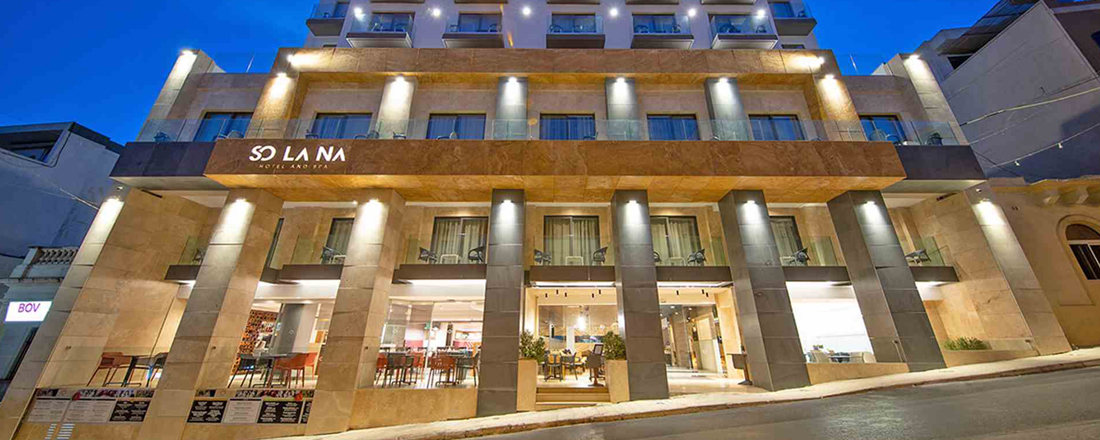 Solana Hotel and Spa, Mellieha, Malta