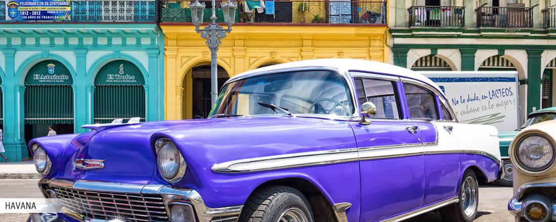 Drømmerejse fra Havana til Italien...