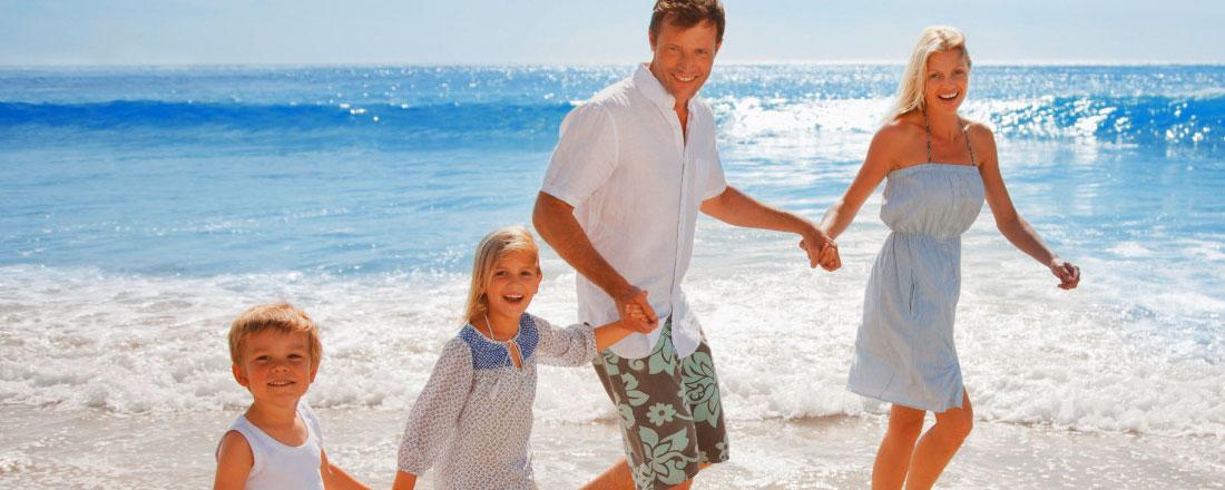Sol og oplevelser - ferie for både familien og romantikken...